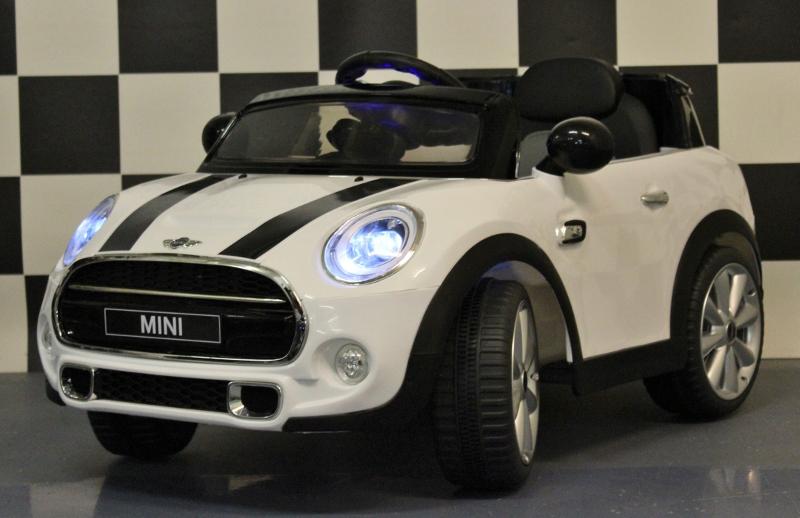 Onwijs MINI COOPER | WIT | 12V | 2.4G RC - Kids-Accu Cars SV-54